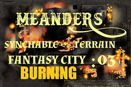 Fantasy City Burning 03