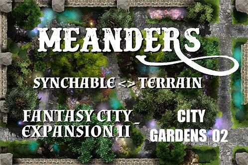 Fantasy City Expansion II - City Garden 02