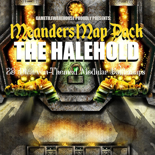 The Halehold: Roll20 Meanders Map Pack