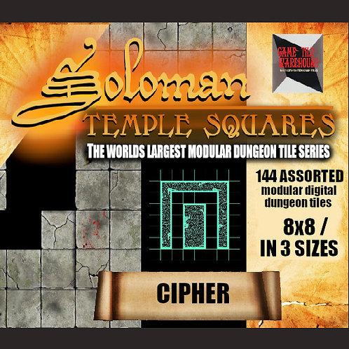 Soloman Temple Squares - CIPHER