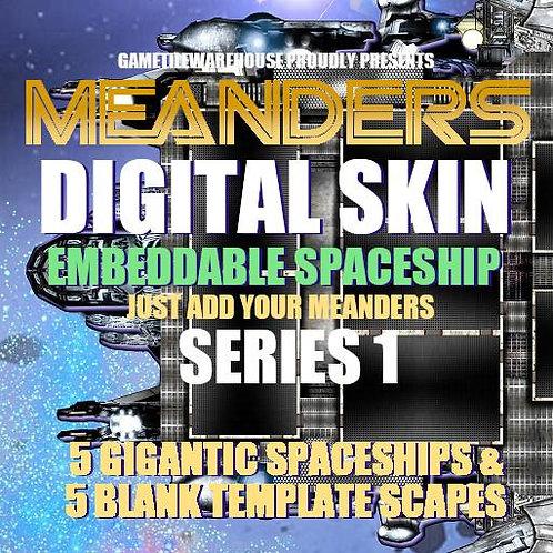 R20 Meanders Digital Skin- Spaceship I