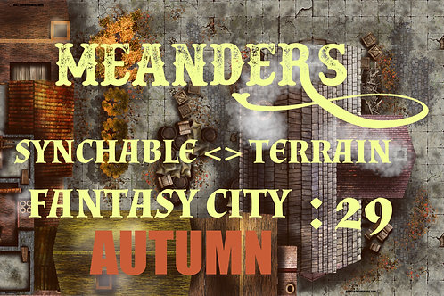 Fantasy City Autumn 29