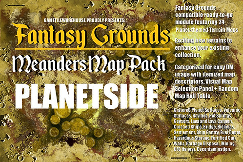 Planetside: Fantasy Grounds Meanders Map Pack