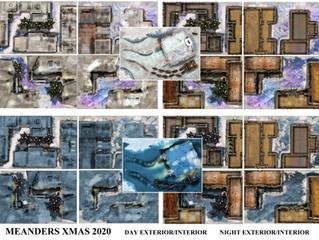 Free Xmas Village Map Pack