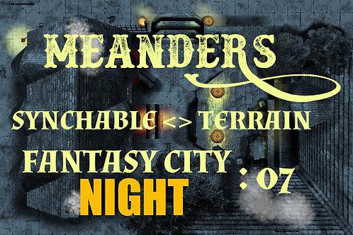 Fantasy City Night 07