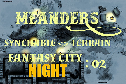 Fantasy City Night 02