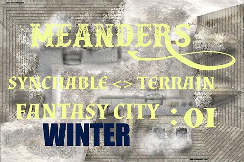 Fantasy City Winter 01