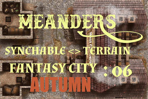 Fantasy City Autumn 06