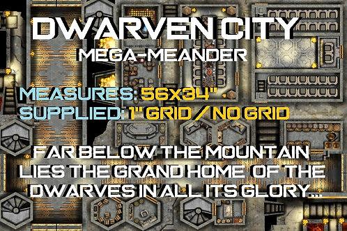 """Mega-Meander """"Dwarven City"""""""
