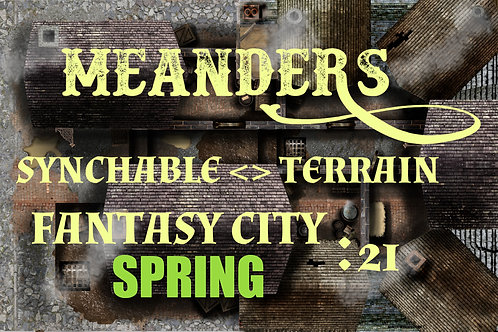 Fantasy City Spring 21