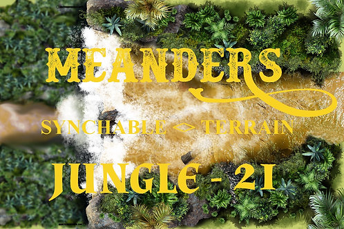 Jungle 21 Waterfall - EDGER