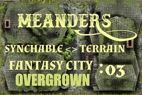 Fantasy City Overgrown 03