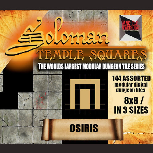 Soloman Temple Squares - OSIRIS