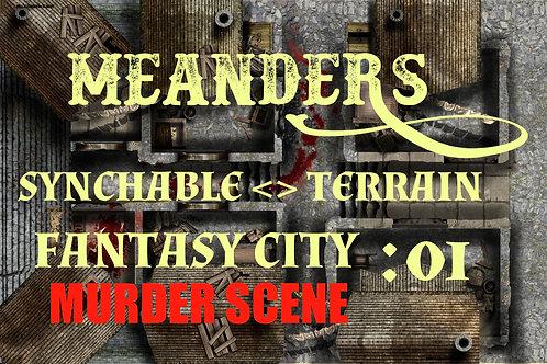 Fantasy City Murder Scene 01