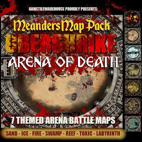 Ubershrike Arena: Roll20 Meanders Map Pack