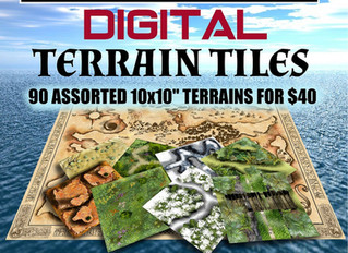 Digital Terrain Tiles Launched