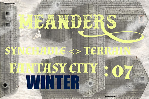 Fantasy City Winter 07