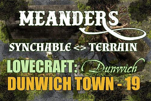 Lovecraftian Dunwich: Town 19