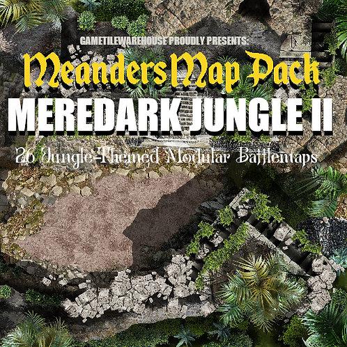 Meredark Jungle II: Roll20 Meanders Map Pack