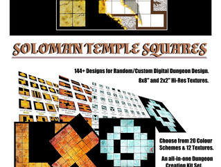 Soloman Temple Squares: Coming Soon