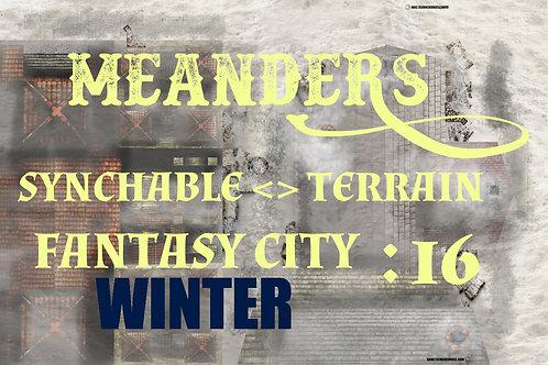 Fantasy City Winter 16