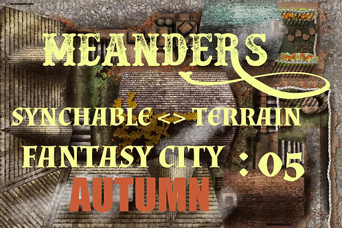 Fantasy City Autumn 05