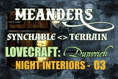 Lovecraftian Dunwich: Night Interior 03
