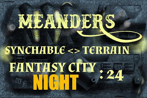 Fantasy City Night 24