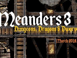 Meanders 3 Update