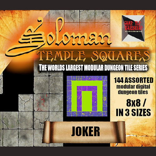 Soloman Temple Squares - JOKER