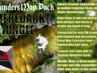 New Fantasy Grounds Map Pack: MEREDARK JUNGLE