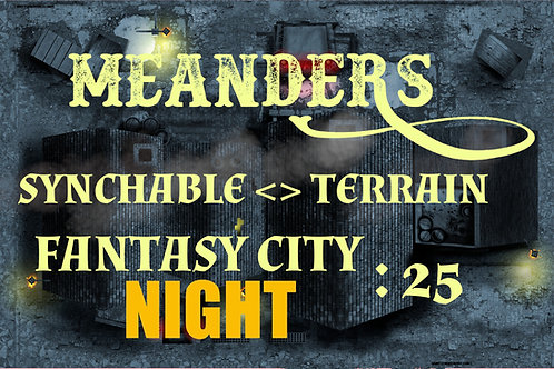 Fantasy City Night 25