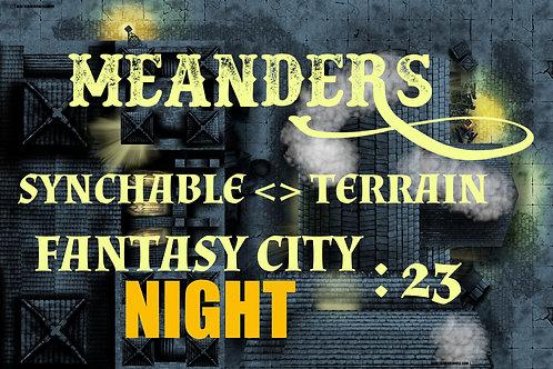 Fantasy City Night 23