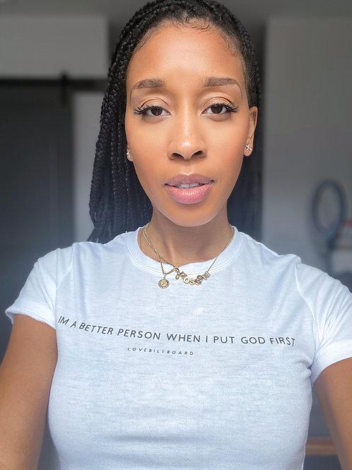 Better Person T-Shirt Women's Fit