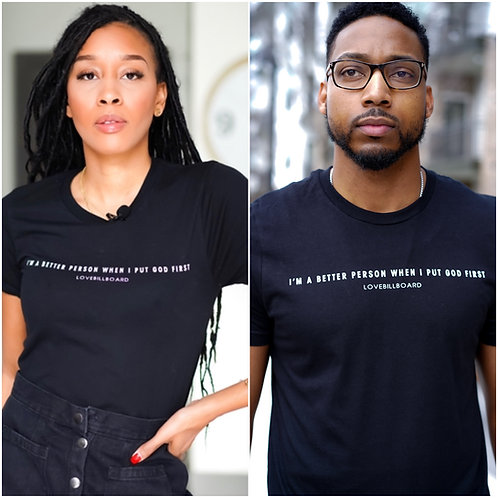 """""""Better Person"""" UNISEX Fit Tee"""