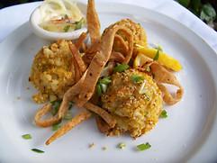 Shrimp and Green Corn Tamale bites