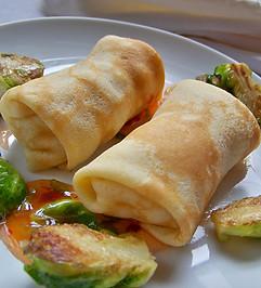 Stuffed Mini Crepes - Grind Dining