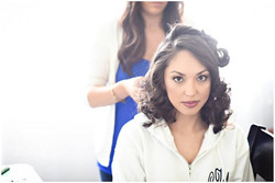 Bridal hair and makeup by BLovely