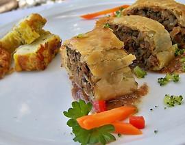 Beef Brisket & Veg in Puff Pastry