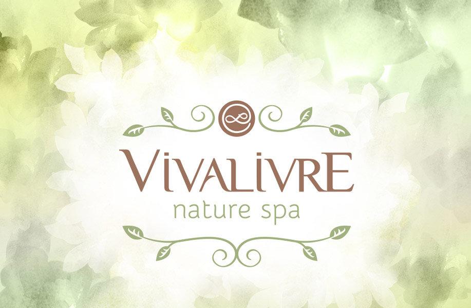 Spa Viva livre criação de naming e identidade visual (criação de logo)