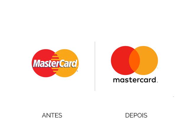 Mastercard de Identidade Visual nova!