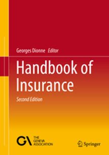 Canada Research Chair in Risk management  Hankbook of Insurance