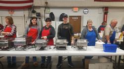 volunteers 2018 breakfast