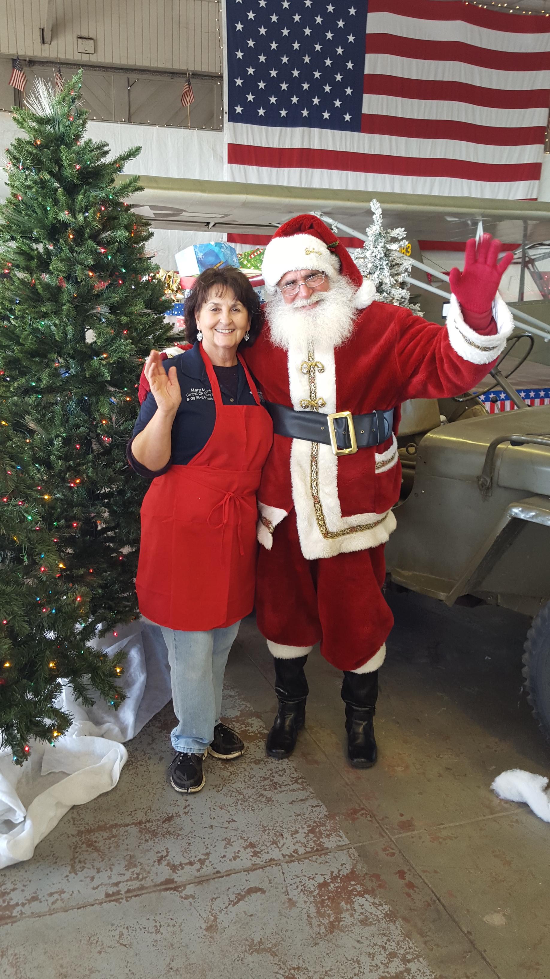 Santa and Mary