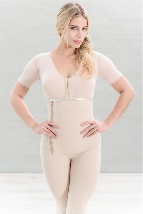 6024 - Women Compression Garment Three Quarter Sleeve & Leg