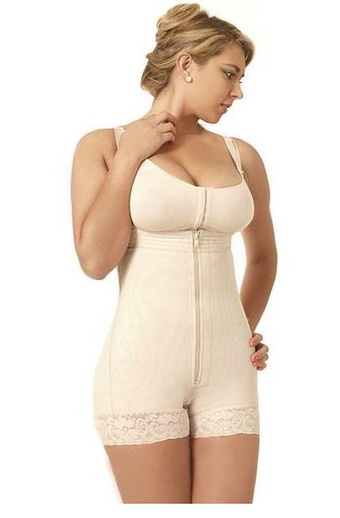 6022 - Women Compression Garment Strapless & Short