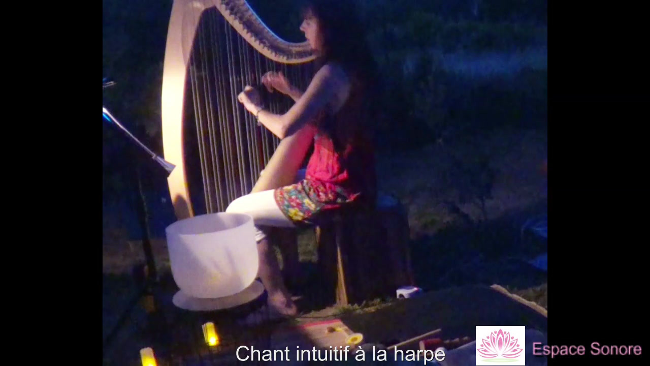 Harpe & chant intuitif en extérieur