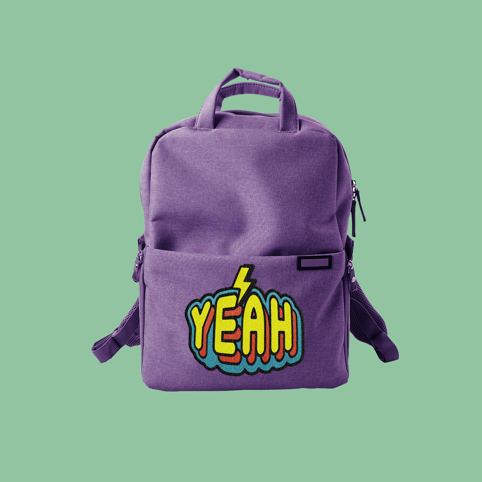 Purple Backpack
