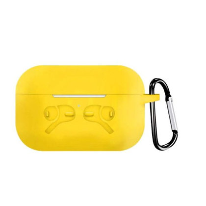 AirPods Pro Case With Keychain - Yellow