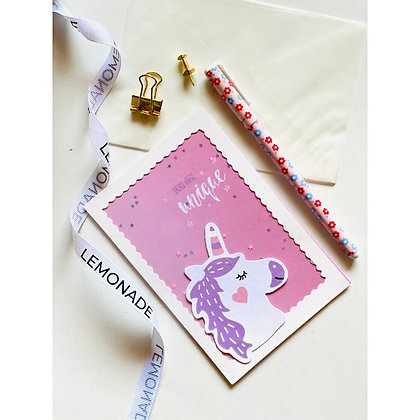 Greeting Cards - Flamingo - You Are Unique